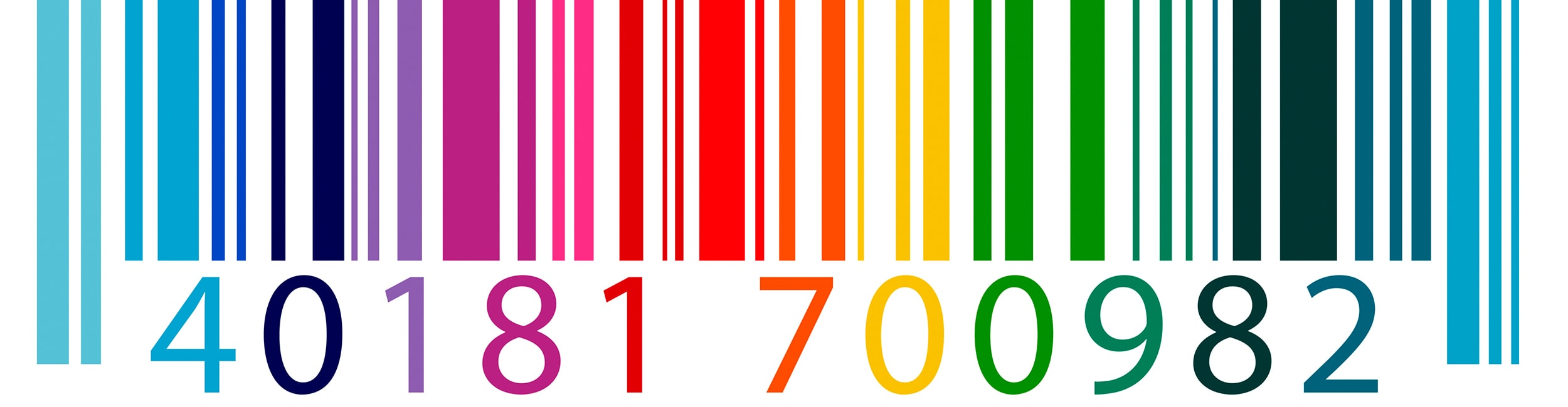 Colorful Barcode Label