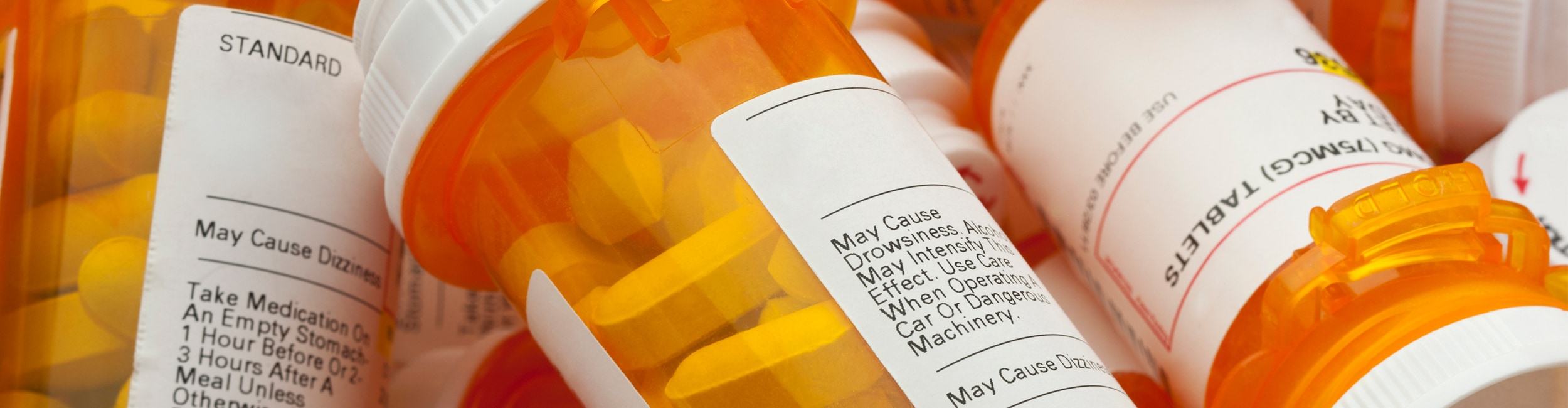 Medical bottles and labels