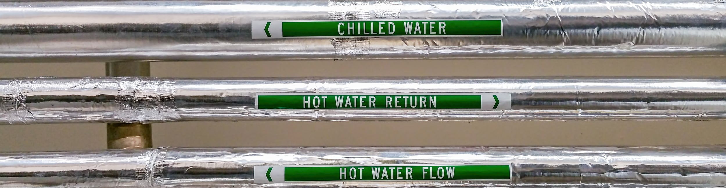water pipe labels