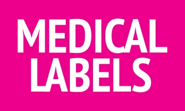 Medical labels.