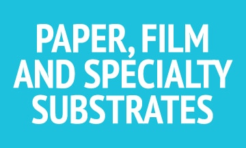 Paper, film and specialty substrates.